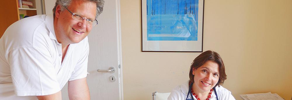 Sprechzeiten der einzelnen Ärzte